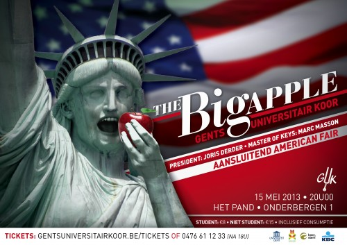 The Big Apple flyer