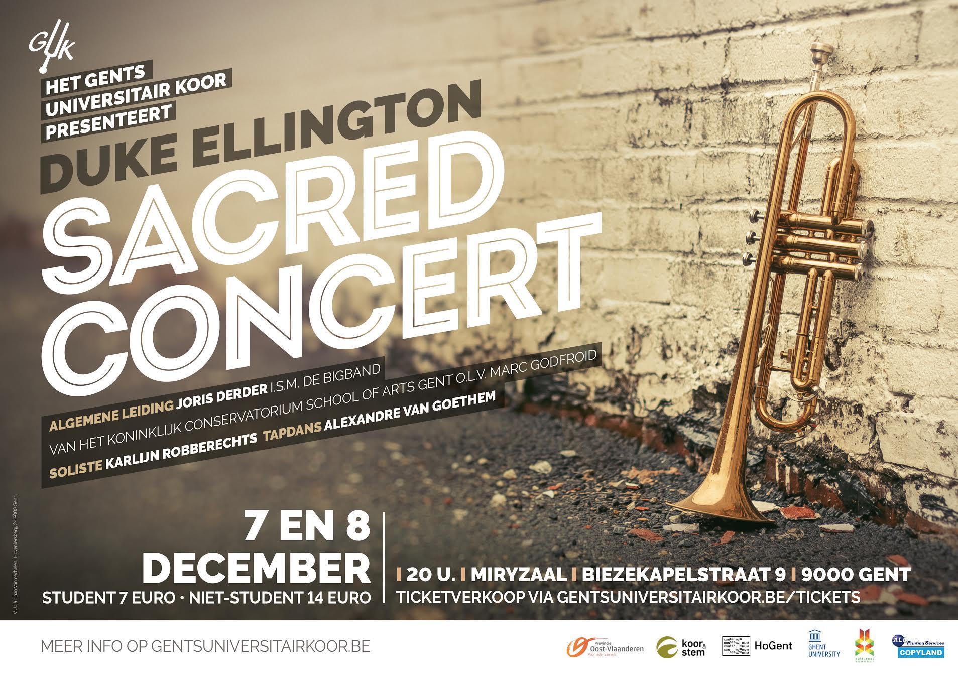 Affiche Sacred Concert