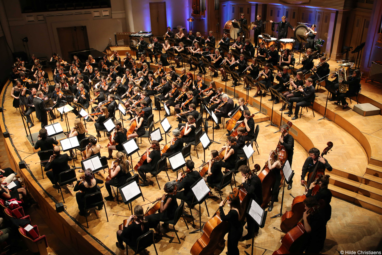 Concert 200 jaar UGent in de Bozar in Brussel